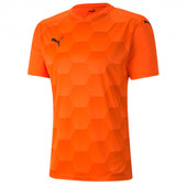 Футболка PUMA teamFINAL 21 Graphic Jersey Shocking Orange 70415024
